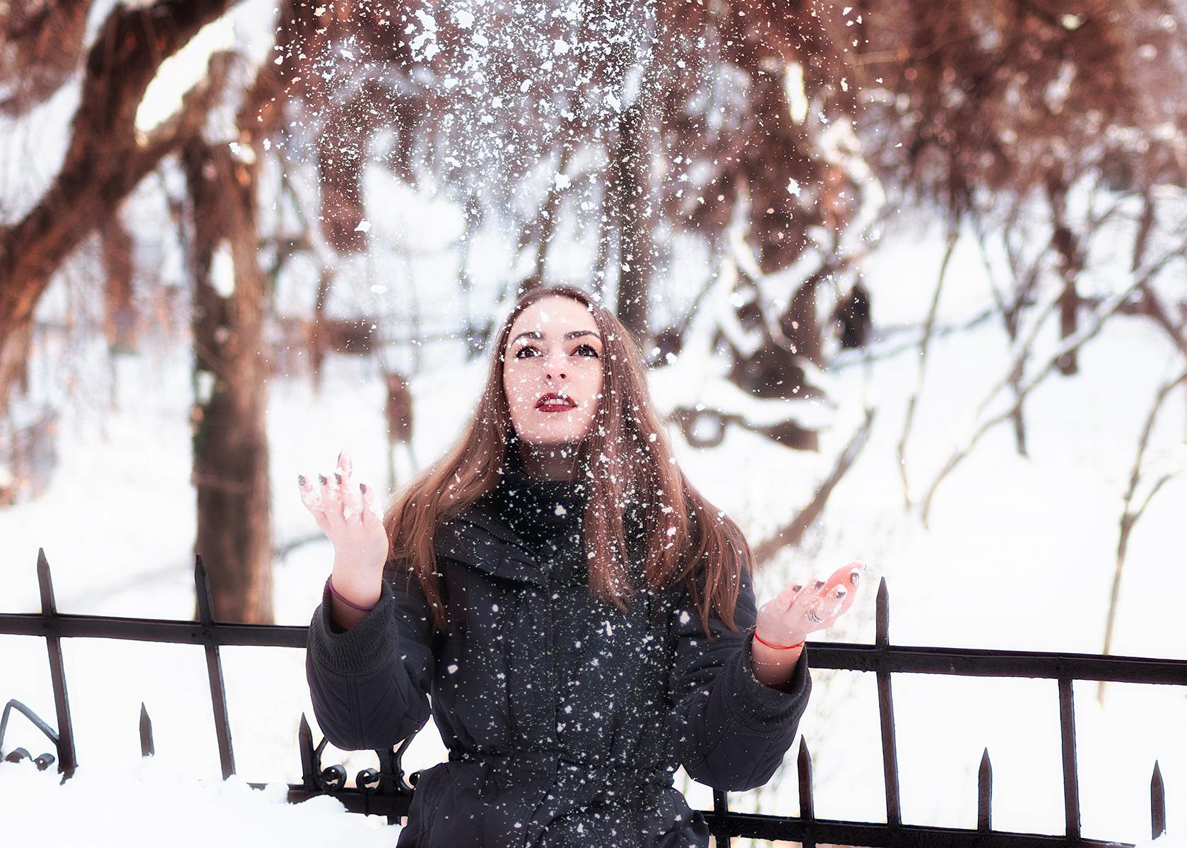 Zăpadă, copilărie, capitală