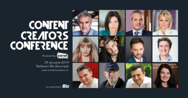 [Digital Marketing] Ca peștele-n apă, la Content Creators 2019!